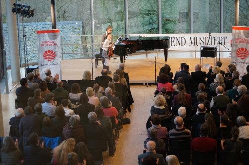 Jugend musiziert auf Schloss Homburg