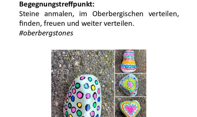 Steine anmalen – Oberberg Stones