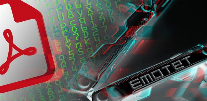 Aktuelle Malware-Warnung: Emotet wird über PDF-Dokumente und Apple-Scam verteilt