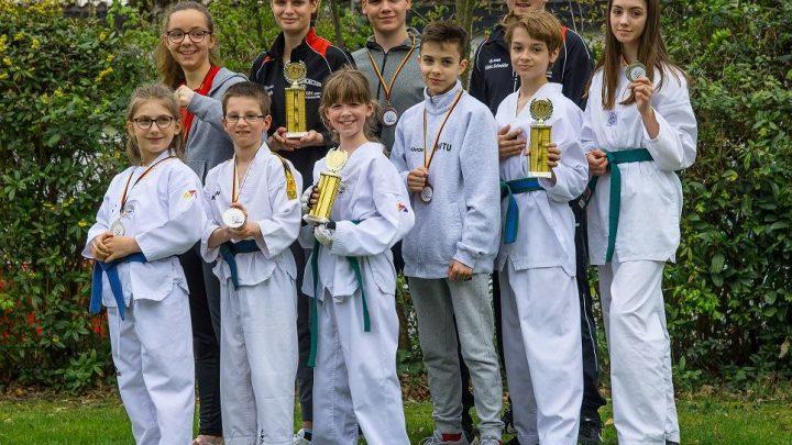 Medaillenregen beim Rheinland Pokal