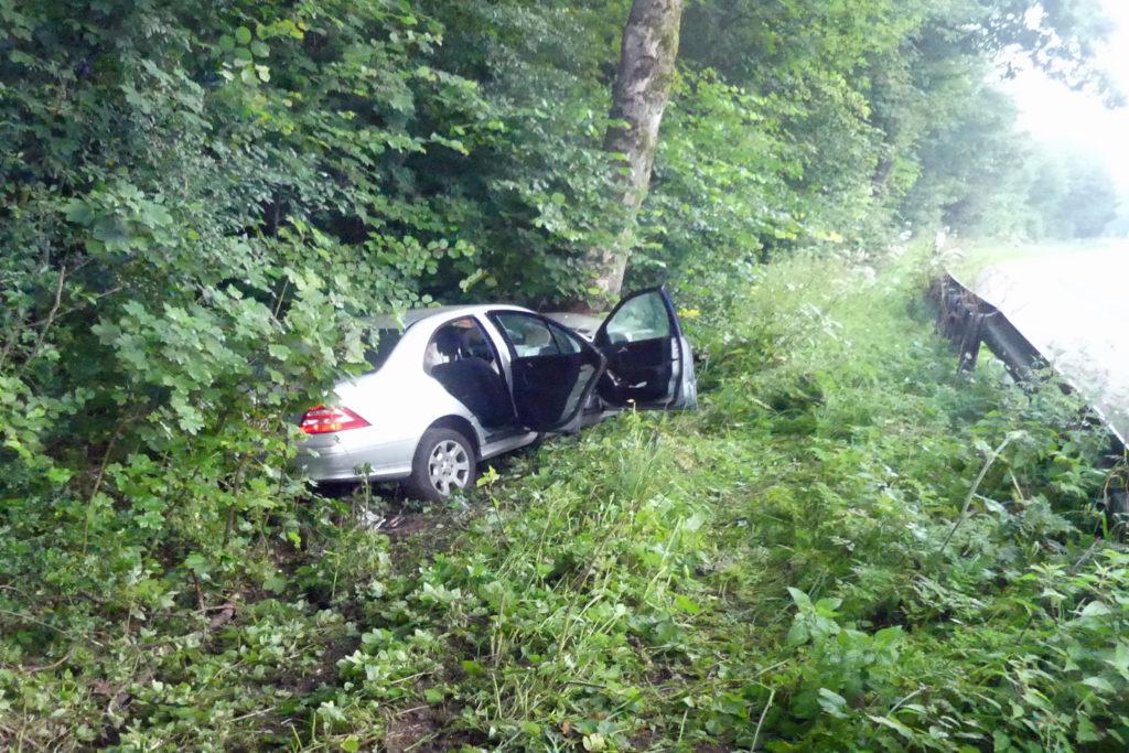 Vier Verletzte bei Unfall auf der Westtangente